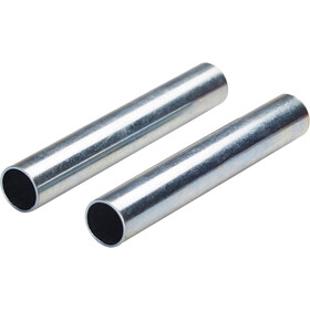 CAMPZ Sleeves for glass fibre poles 11 mm Set of 2 silber